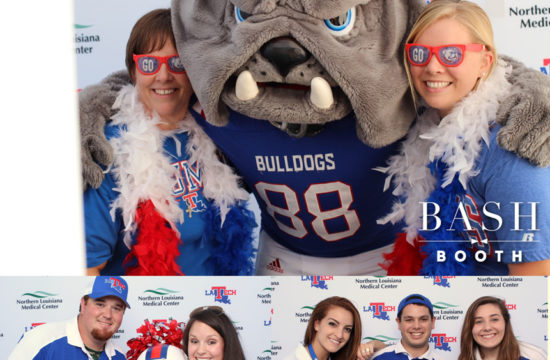 LaTech vs Rice Game Bash Booth